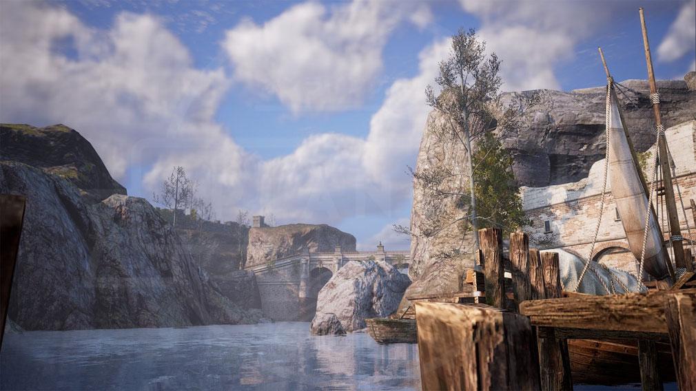 BLESS UNLEASHED PC(ブレスアンリーシュド) 『カンパーニャ地域』スクリーンショット