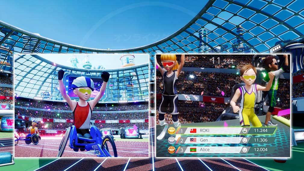 The Pegasus Dream Tour オンラインパラスポーツ大会に参加する紹介イメージ