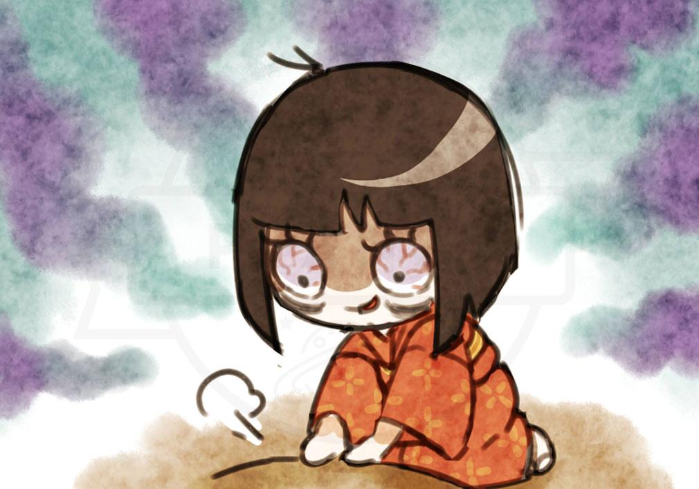 にょろっこ にょろにょろ対戦ごっこ 天使側キャラクター『座敷童』紹介イメージ