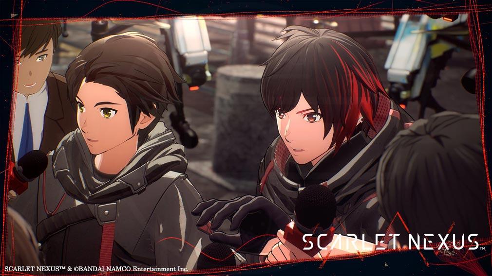 SCARLET NEXUS(スカーレットネクサス) 志願兵とスカウト兵のスクリーンショット