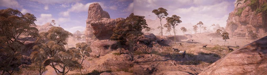 BLESS UNLEASHED PC(ブレスアンリーシュド) 砂漠に面した土地『ナバラ北部地域』スクリーンショット