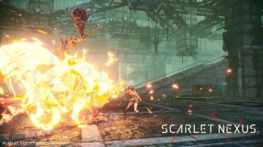 SCARLET NEXUS(スカーレットネクサス) 『超脳力』スクリーンショット
