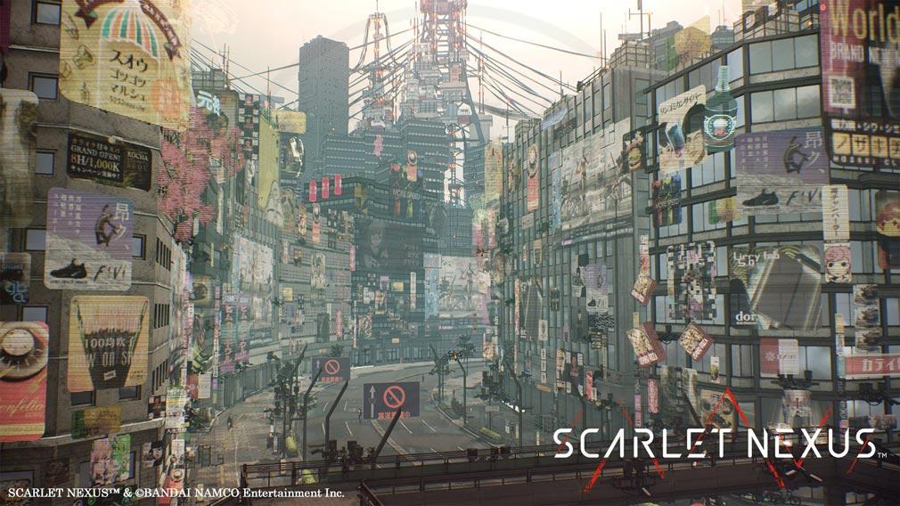 SCARLET NEXUS(スカーレットネクサス) 『ニューヒムカ』スクリーンショット