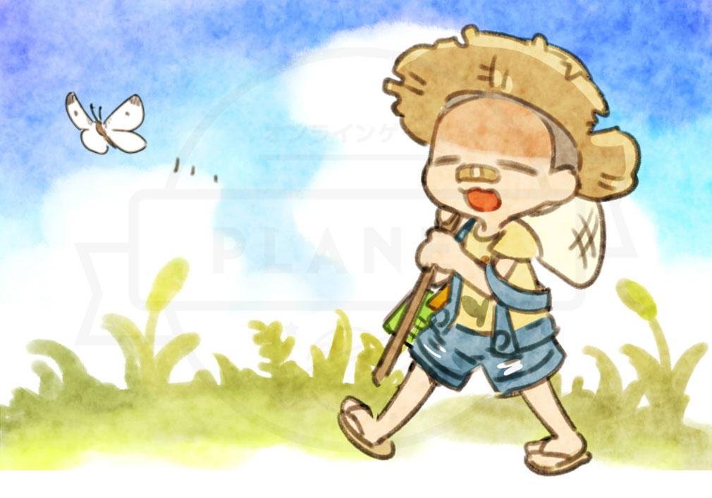 にょろっこ にょろにょろ対戦ごっこ 人間側キャラクター『タロウ』紹介イメージ