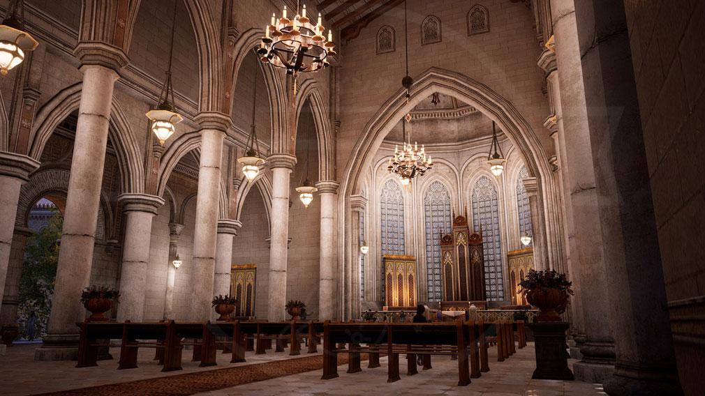 BLESS UNLEASHED PC(ブレスアンリーシュド) 『ナバラ北部地域』にある大きく立派な教会スクリーンショット