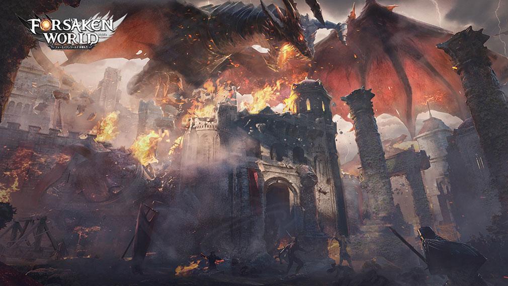 フォーセイクンワールド 神魔転生(フォセワ)FWM 『神々の戦争』紹介イメージ