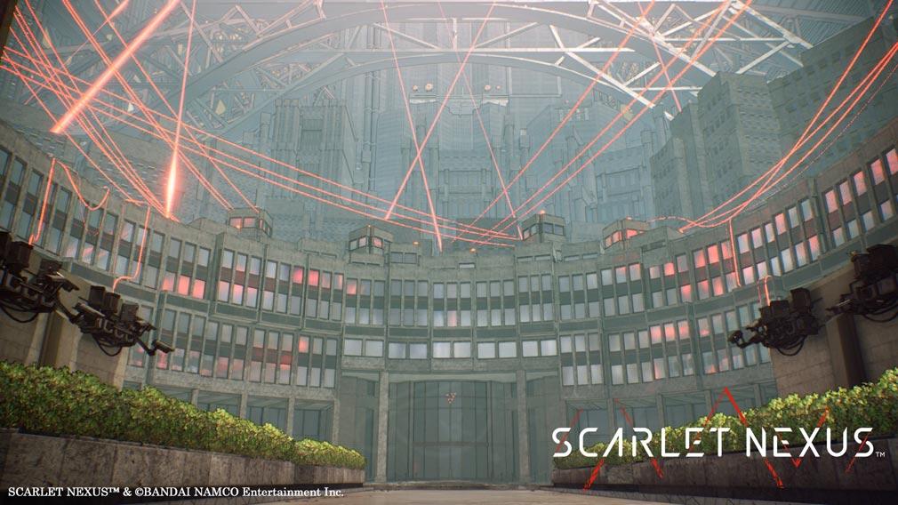 SCARLET NEXUS(スカーレットネクサス) 『怪異討伐軍本部』スクリーンショット