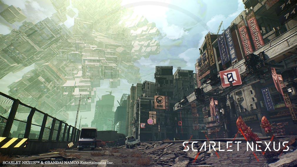 SCARLET NEXUS(スカーレットネクサス) 『キクチバ』スクリーンショット
