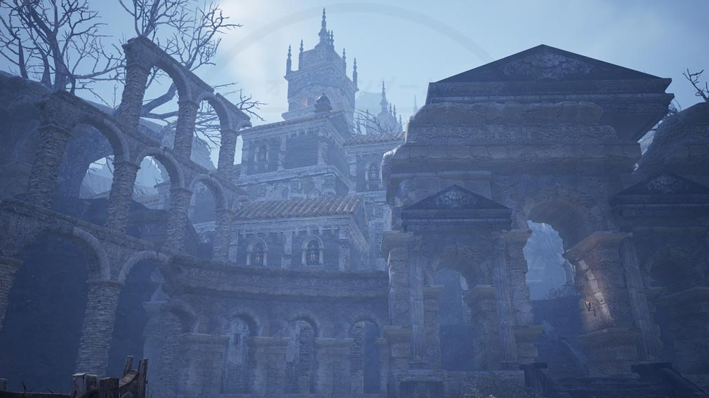 BLESS UNLEASHED PC(ブレスアンリーシュド) 『テルニー地域』の『ロッソ城』スクリーンショット