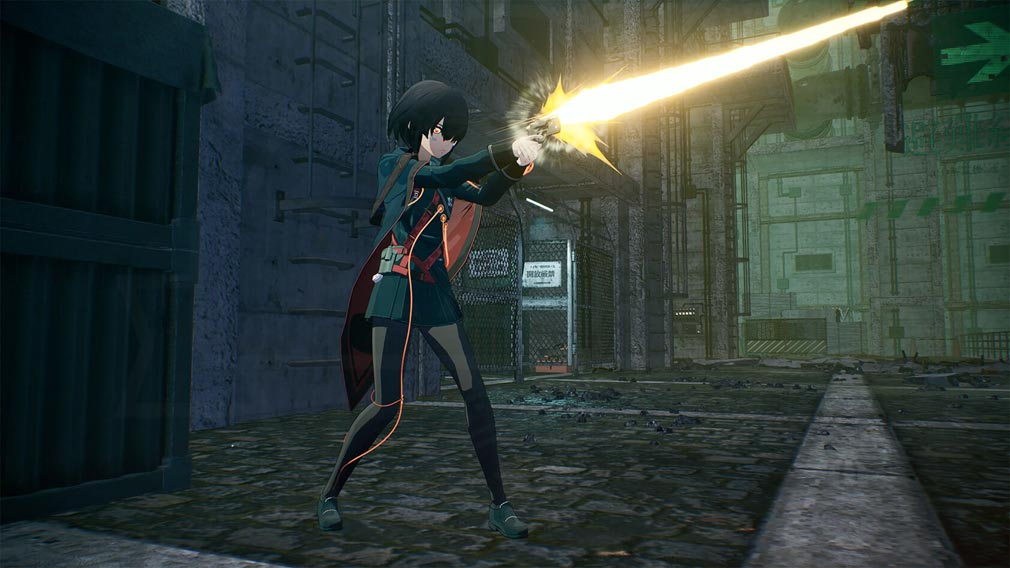 SCARLET NEXUS(スカーレットネクサス) キャラクター『ツグミ・ナザール』スクリーンショット