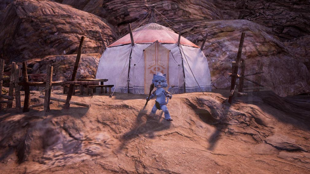 BLESS UNLEASHED PC(ブレスアンリーシュド) 獣人族『ゴトス』スクリーンショット
