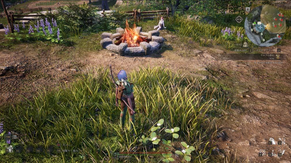 BLESS UNLEASHED PC(ブレスアンリーシュド) 『焚き火』スクリーンショット