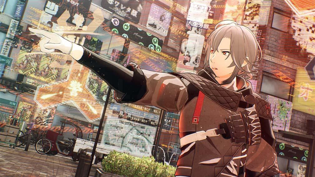 SCARLET NEXUS(スカーレットネクサス) キャラクター『フブキ・スプリング』が現場を仕切るスクリーンショット