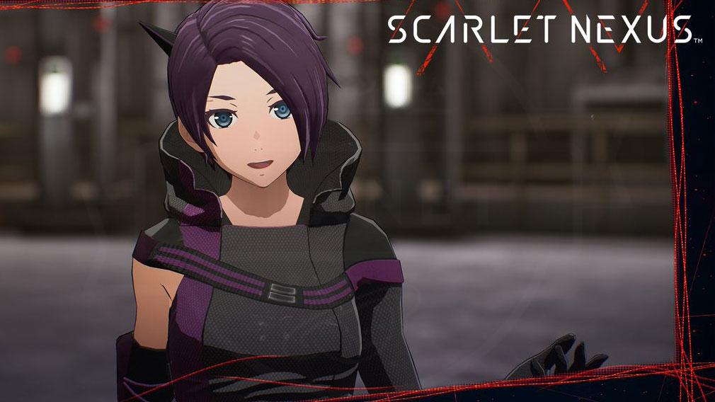 SCARLET NEXUS(スカーレットネクサス) キャラクター『ハルカ・フレイザー』スクリーンショット