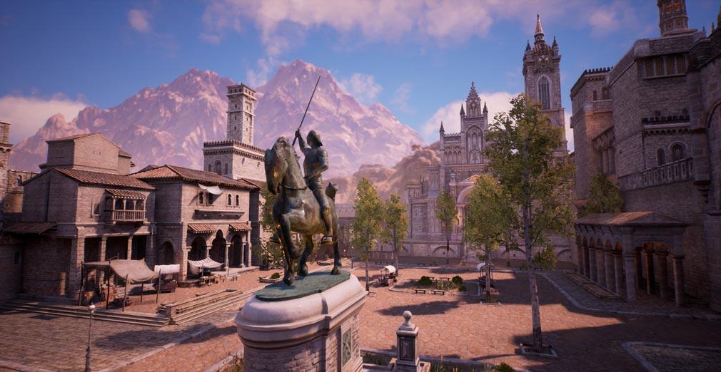 BLESS UNLEASHED PC(ブレスアンリーシュド) Unreal Engine4(UE4)搭載の美麗な世界観が表現されたスクリーンショット
