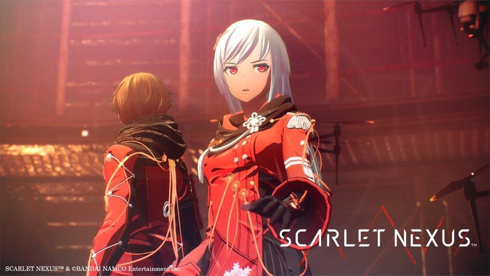 SCARLET NEXUS(スカーレットネクサス) DL専売の『DELUXE EDITION』を購入することで獲得できる衣装『赤ノ装束』スクリーンショット