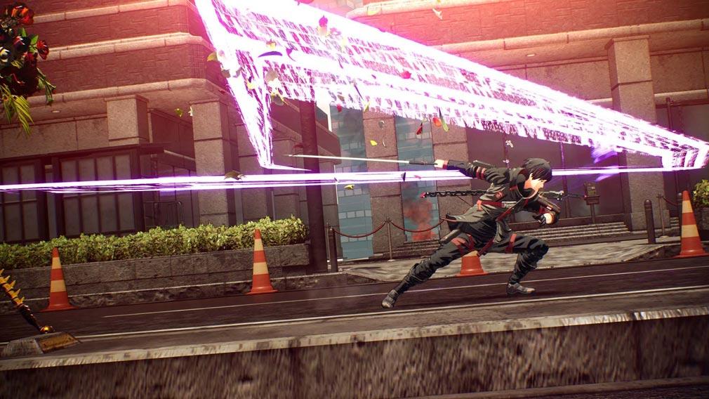 SCARLET NEXUS(スカーレットネクサス) 『念力追撃』スクリーンショット