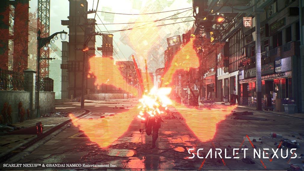 SCARLET NEXUS(スカーレットネクサス) 火を纏った攻撃スクリーンショット