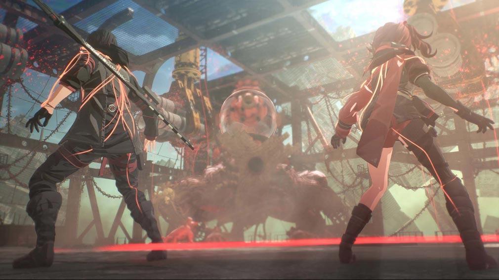 SCARLET NEXUS(スカーレットネクサス) 仲間の『超脳力』を一時的に借り受けて活用する『SAS』スクリーンショット