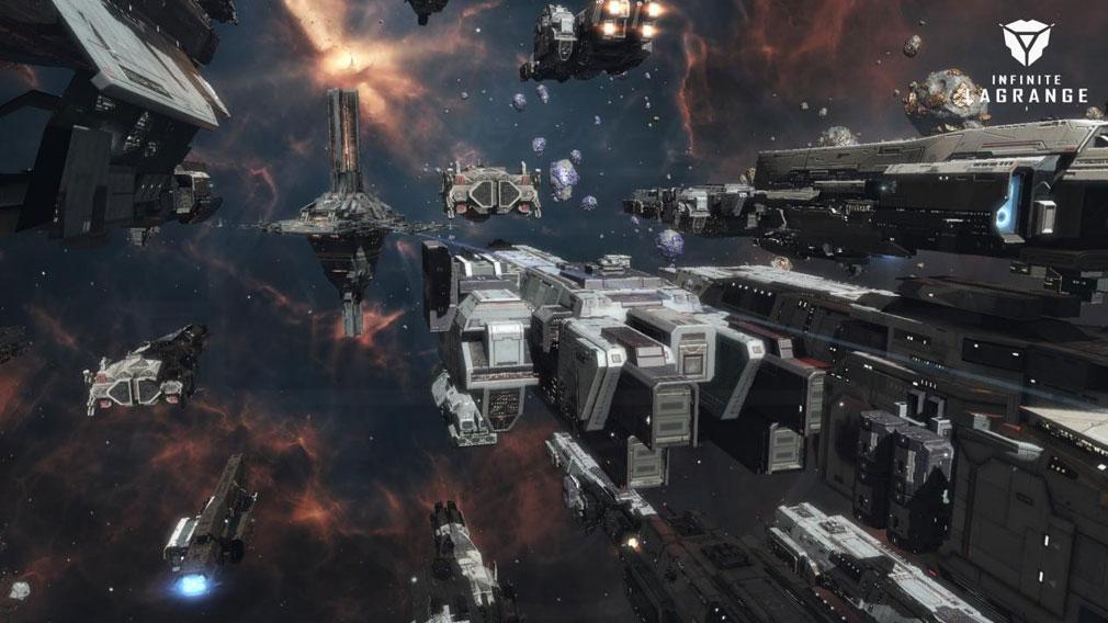 インフィニット ラグランジュ 艦隊の宇宙戦争紹介イメージ