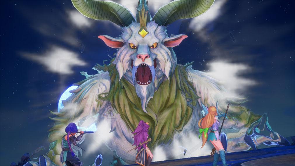 聖剣伝説3 TRIALS of MANA(トライアルズ オブ マナ) 仲間と強敵に立ち向かうスクリーンショット