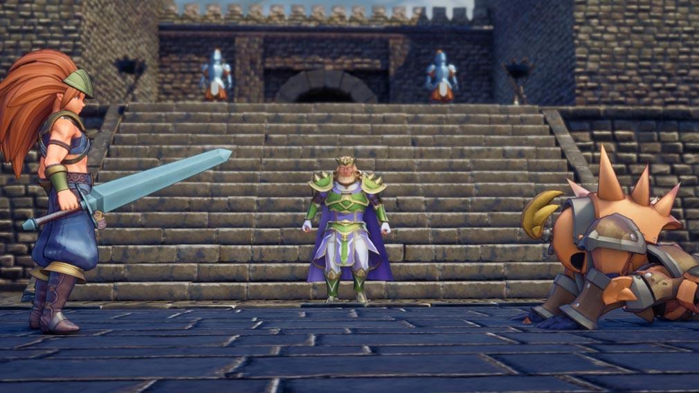 聖剣伝説3 TRIALS of MANA(トライアルズ オブ マナ) シナリオパートスクリーンショット