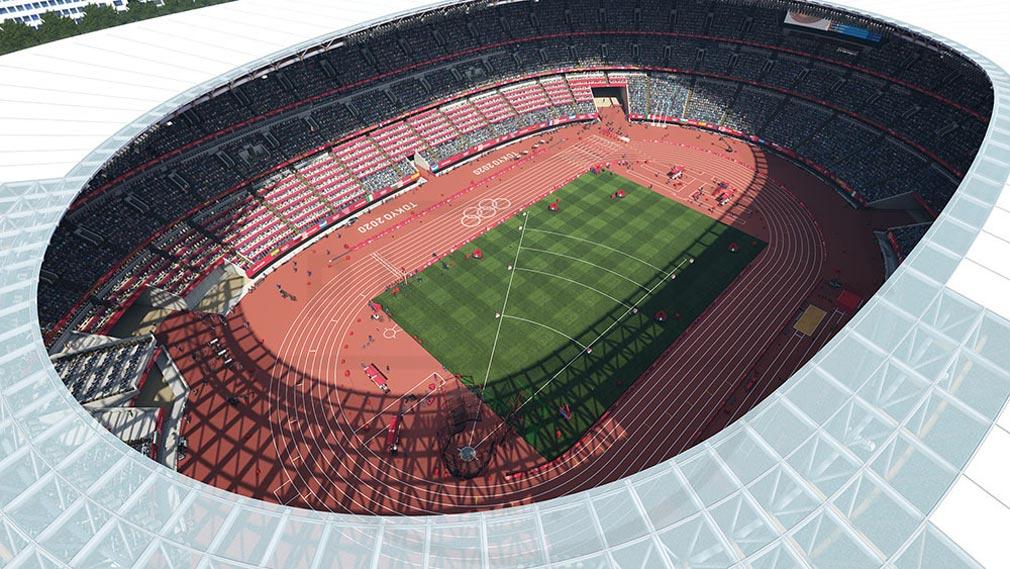 東京2020オリンピック The Official Video Game TM 『オリンピックスタジアム』スクリーンショット