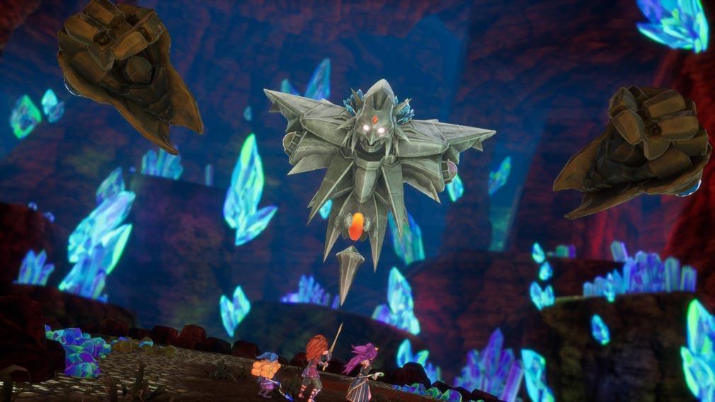 聖剣伝説3 TRIALS of MANA(トライアルズ オブ マナ) 強敵に挑戦するスクリーンショット