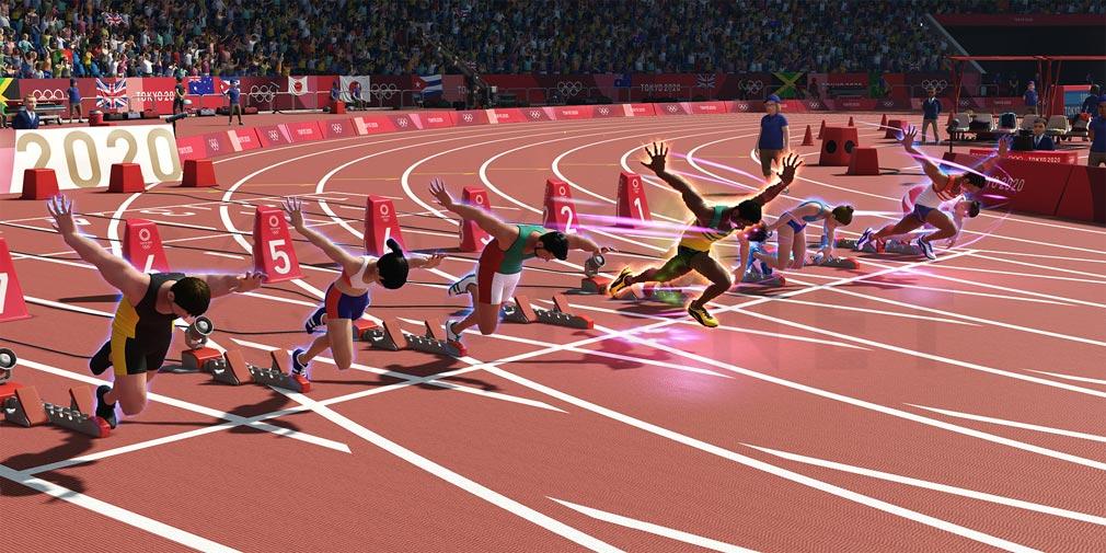 東京2020オリンピック The Official Video Game TM 『スピードタイプ』スクリーンショット