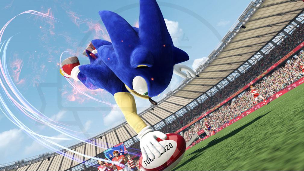 東京2020オリンピック The Official Video Game TM 『パワータイプ』スクリーンショット