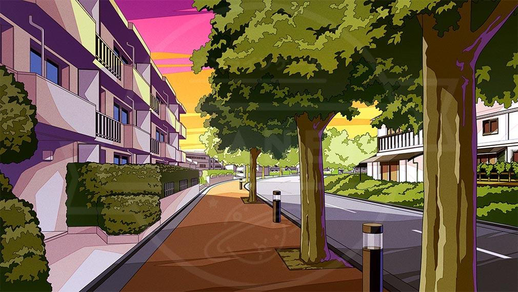 LOOPERS(ルーパーズ) 世界観『郊外の住宅街』紹介イメージ