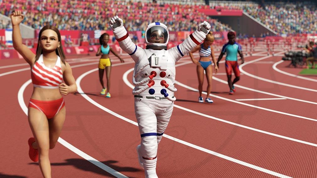東京2020オリンピック The Official Video Game TM 宇宙飛行士のコスチュームスクリーンショット