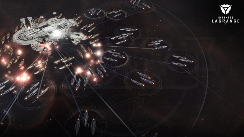 インフィニット ラグランジュ 『同盟』との協力バトル紹介イメージ