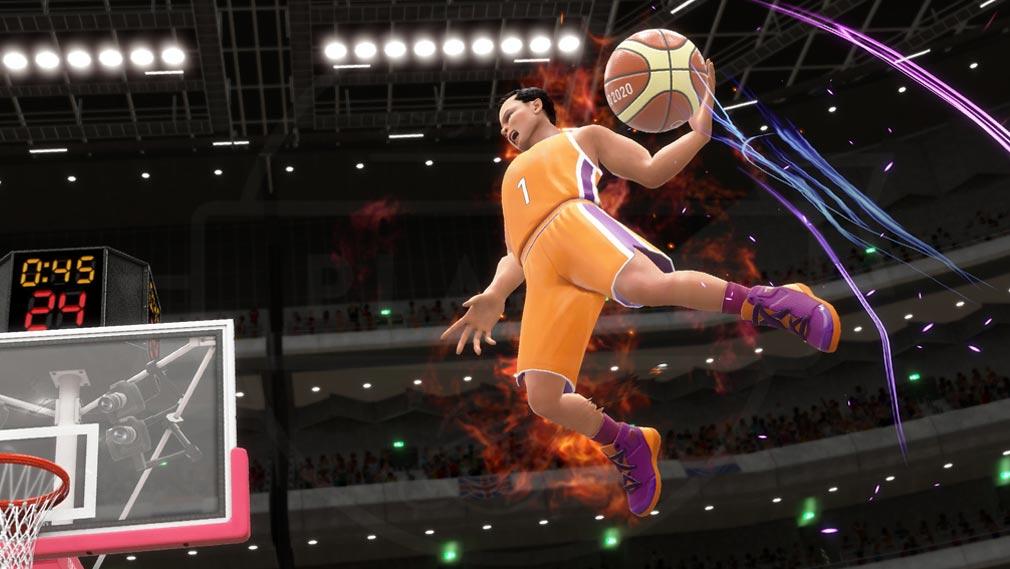 東京2020オリンピック The Official Video Game TM バスケットボール競技スクリーンショット