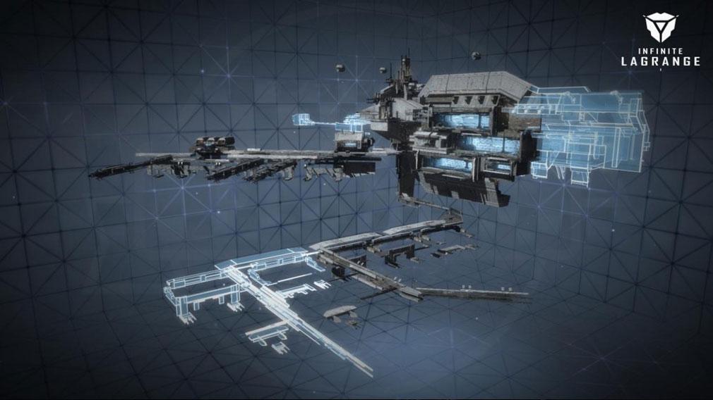 インフィニット ラグランジュ 『宇宙基地』紹介イメージ