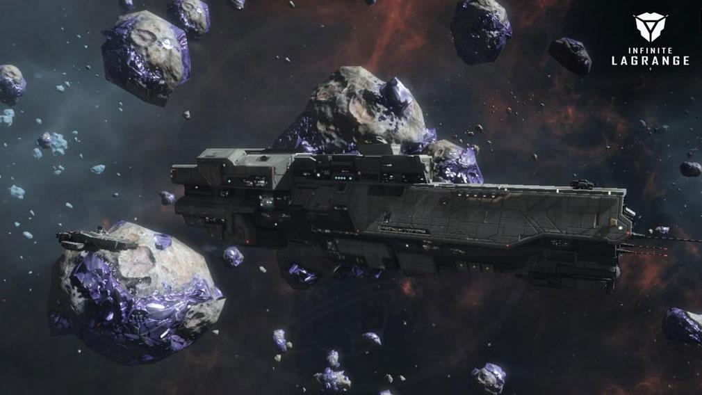 インフィニット ラグランジュ 宇宙資源の『採掘』紹介イメージ
