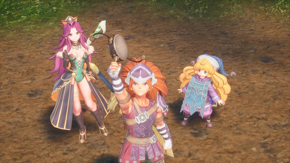 聖剣伝説3 TRIALS of MANA(トライアルズ オブ マナ) ストーリースクリーンショット