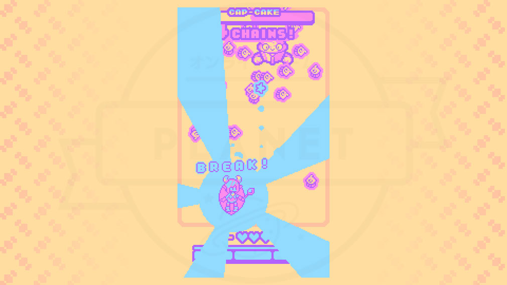 Super Glitter Rush(スーパーグリッターラッシュ) 敵に一気に大ダメージを与えるブレークスクリーンショット