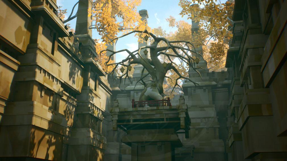 黄昏ニ眠ル街 タソガレニネムルマチ(タソマチ) 聖域に鎮座する『神木』スクリーンショット