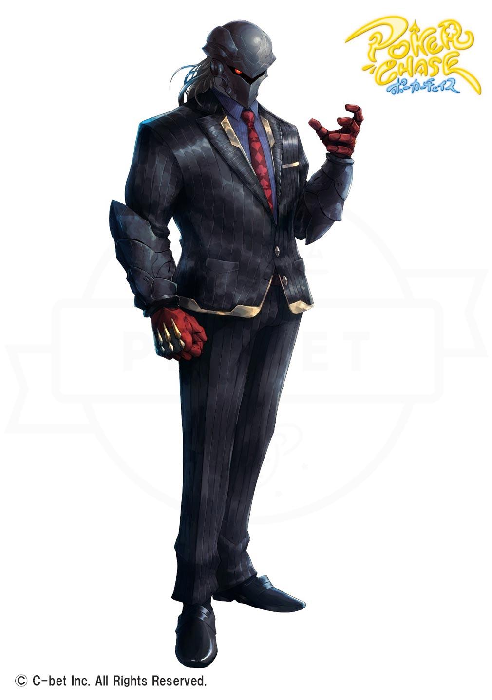 ポーカーチェイス(ポカチェ) キャラクター『ジェイムズ・サンドマン』紹介イメージ