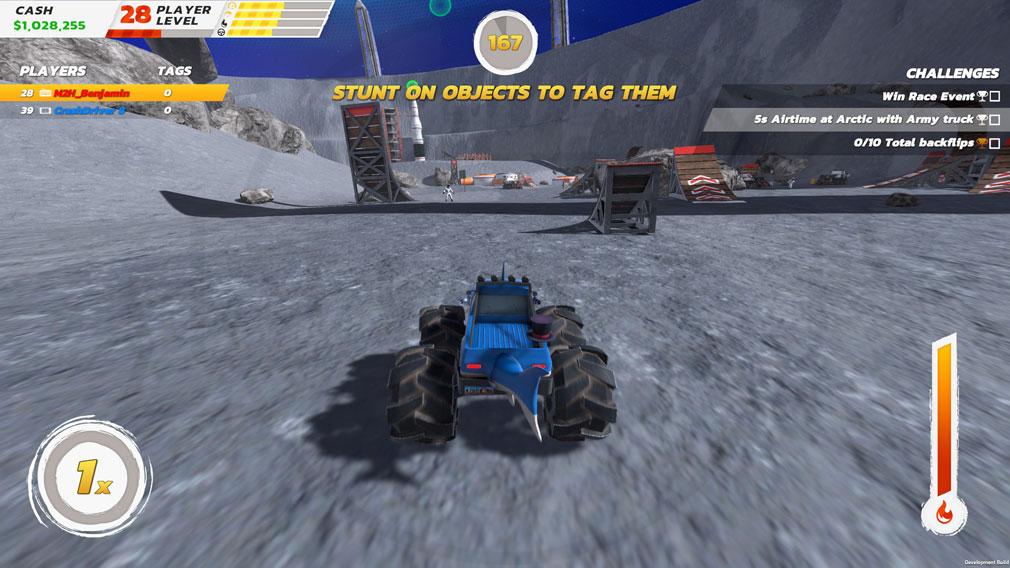 クラッシュドライブ3 ロケットを飛ばして月を目指すスクリーンショット