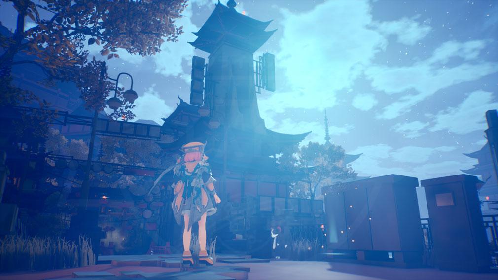 黄昏ニ眠ル街 タソガレニネムルマチ(タソマチ) 『黄昏の霧』に包まれた街スクリーンショット