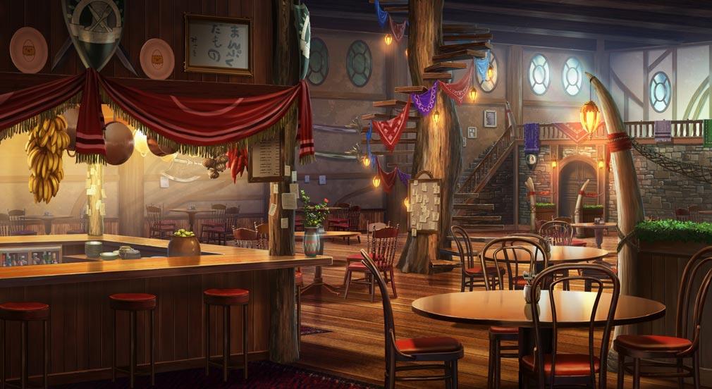 救世少女 メシアガール 巨大なツリーハウスの根本にある飯屋紹介イメージ