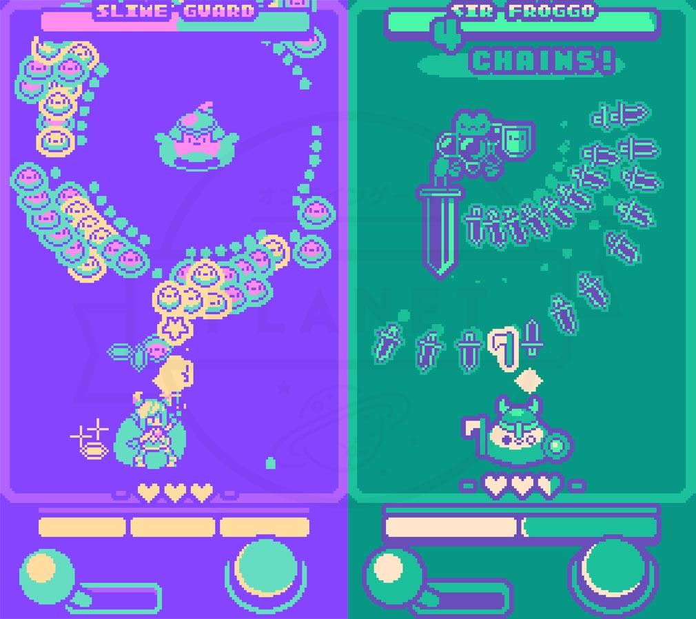 Super Glitter Rush(スーパーグリッターラッシュ) スマホ版プレイスクリーンショット