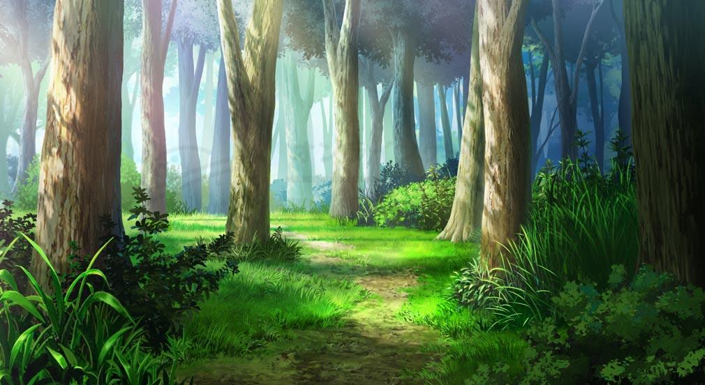 救世少女 メシアガール 緑溢れる森林が大部分を占める『ポンポニエール王国周辺』紹介イメージ
