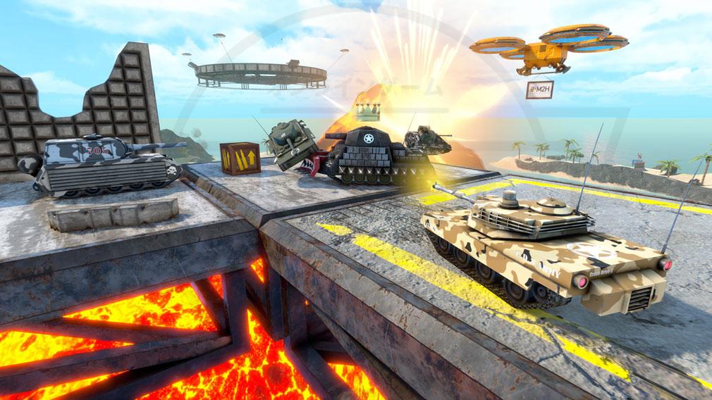 クラッシュドライブ3 戦車バトルスクリーンショット