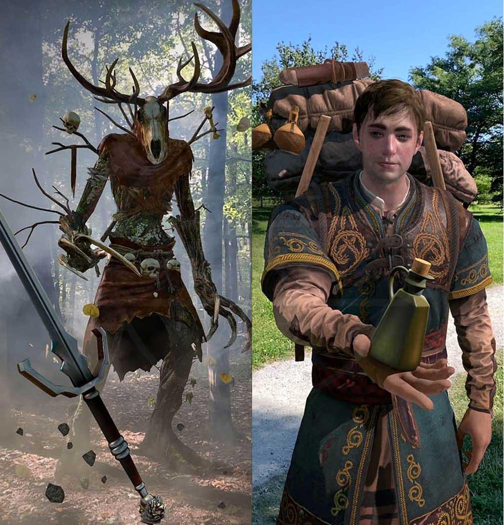 ウィッチャー モンスタースレイヤー(The Witcher Monster Slayer) 一人称視点(FPS)のAR戦闘、ストーリー性の高いクエスト紹介イメージ