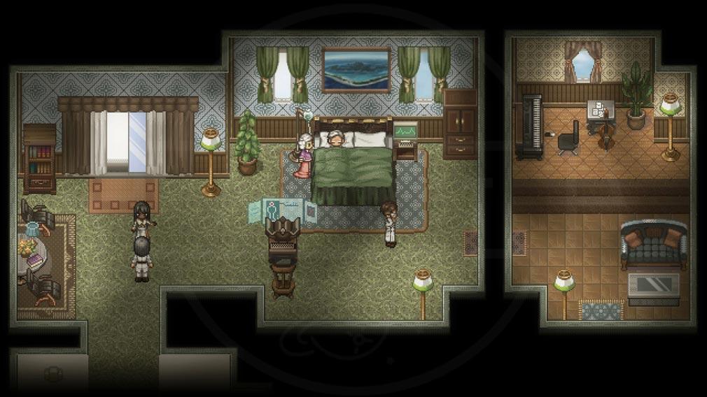 Finding Paradise 死の床にあるクライアントスクリーンショット