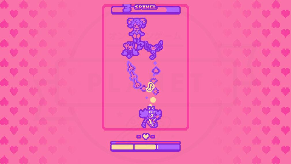 Super Glitter Rush(スーパーグリッターラッシュ) 可愛いボススクリーンショット