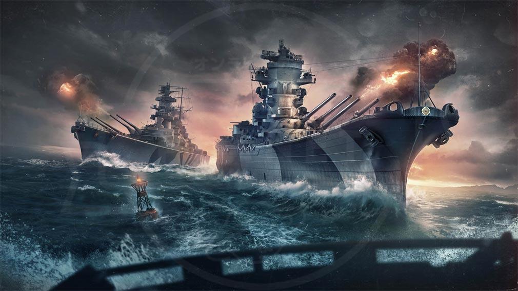 World of Warships(ワールドオブウォーシップス)WoWs 新バトルモード『グランドバトル』紹介イメージ